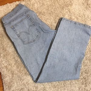 Vintage Levi's 550 Relaxed Boot Cut Jeans